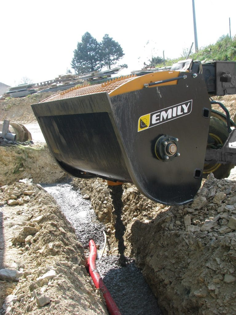 Łyżka mieszająca do betonu